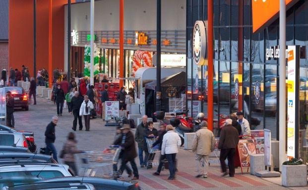 Investitionsobjekt des Pluswertfonds 162: ein Fachmarktzentrum im hessischen Bad Hersfeld