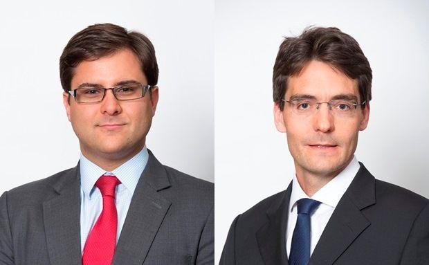 Alexander Ball (links) und Nicolas Lucas