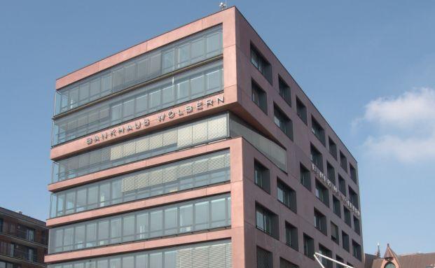 Niederlassung des Bankhauses Wölbern & Co in Hamburg. Foto: © Wolfgang Meinhart, Hamburg
