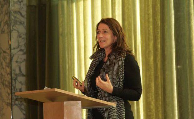 Barbara Knoflach auf der diesjährigen BIIS-Jahrestagung. Foto: BIIS