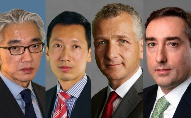 Auf dem Barings Emerging Markets Equity Summit stellen die Fondsmanager HyungJin Lee, SooHai Lim, Jean-Louis Scandella und Mike Simpson ihre Investmentansätze vor