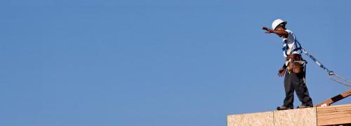 Gef&auml;hrlicher Beruf: Bauarbeiter<br>Foto: Fotolia