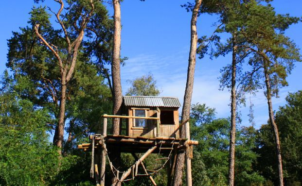 Eine nachhaltige Immobilie muss kein Baumhaus sein. Quelle: Pixelio