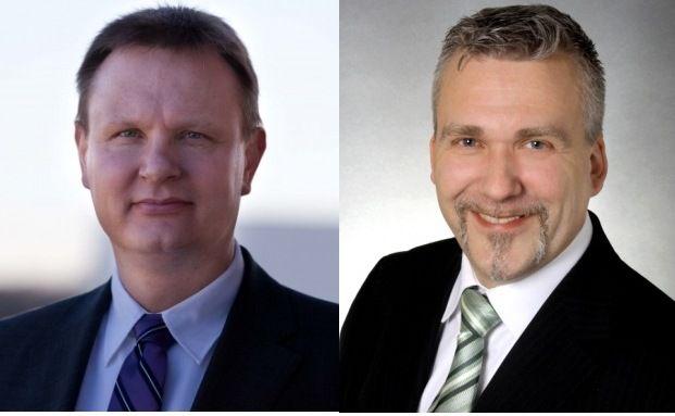 Thorsten Rudnik (links) und Axel Kleinlein