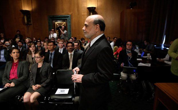 Ben Bernanke während einer Anhörung am 18. Juli