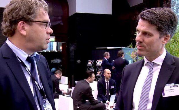 Malte Dreher, Chefredakteur DAS INVESTMENT mit Christoph Benner (rechts), Gründer von Chom Capital