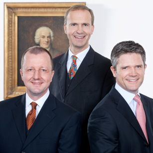 Berenberg-Vorstand <br> Kuhlberg, Quistorp, Bergé