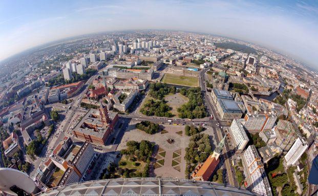 Berlin: Blick vom Fernsehturm (Foto: istock)