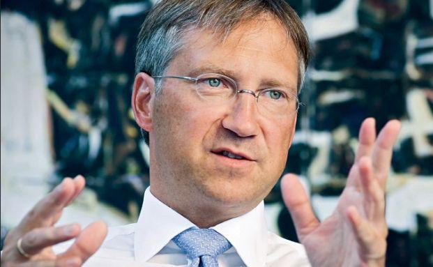 Bert Flossbach, Chef der Verm&ouml;gensverwaltung <br> Flossbach von Storch