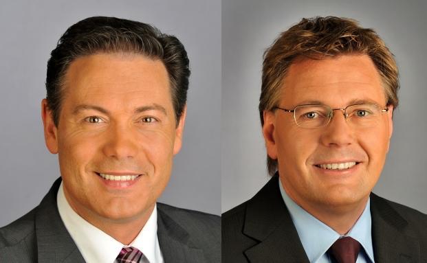 Thomas Beyerle (links) und Jörn Heidrich von der IVG.