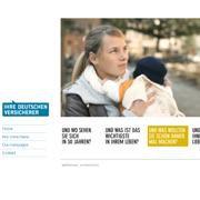 Screenshot der Seite: <br>www.ihre-versicherer.de