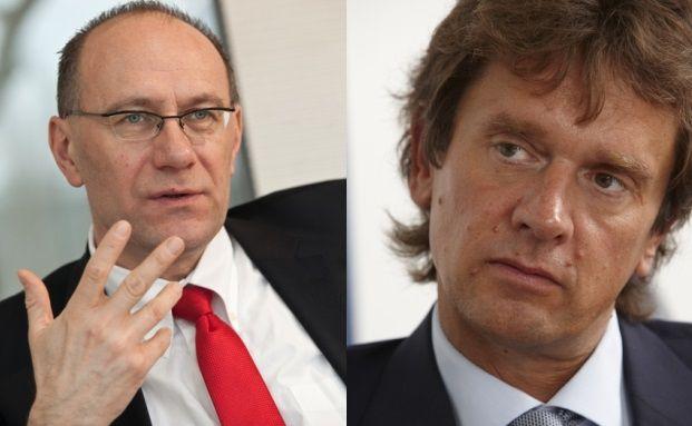 Abseits des Mainstreams: Main-First-Manager Olgerd Eichler (links) und Stefan Böttcher von Charlemagne Capital