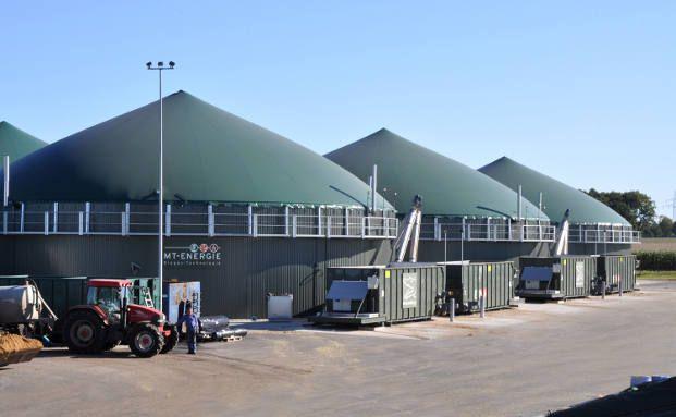 Es blubbert: Biogasanlage im niedersächsischen Malstedt<br>(Foto: MT-Energie)