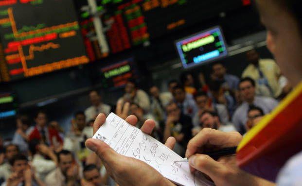 Börsenhändler an der Börse in Sao Paulo (Foto: Getty)