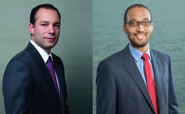 Malek Bou-Diab (links), Lead Portfolio Manager und Andy Gboka, Portfolio Manager bei Bellevue Asset Management