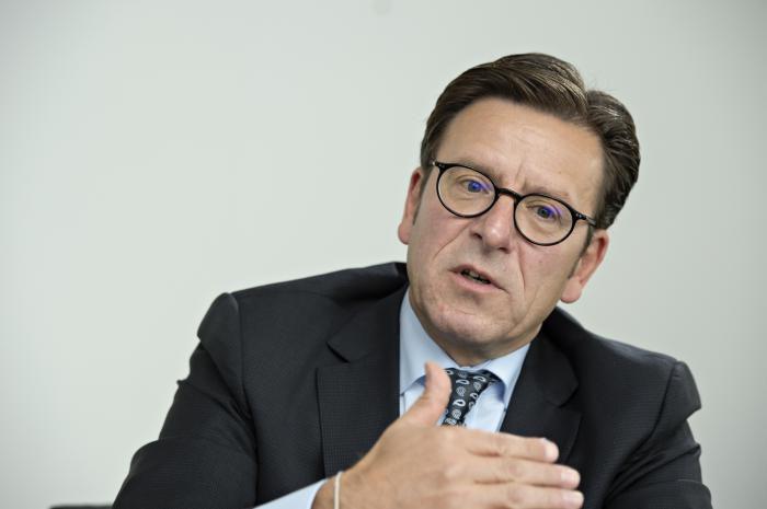 Ralph Brand ist Vorstandsvorsitzender der Zurich Gruppe Deutschland. Foto: Uwe Noelke