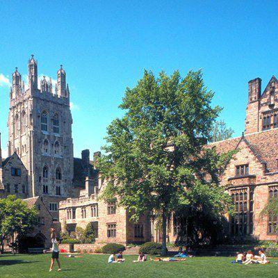 Der Branford Court, einer der<br>typischen H&ouml;fe der Uni Yale<br>Foto: Michael Marsland/Yale