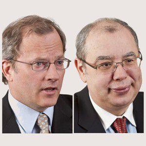 Emery Brewer (links) und<br>Ivo St. Kovachev