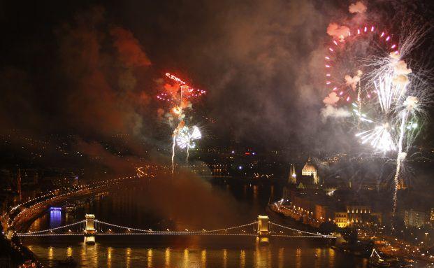 Die Vertriebler lie&szlig;en es in Budapest so richtig knallen, <br> Quellen: Getty Images
