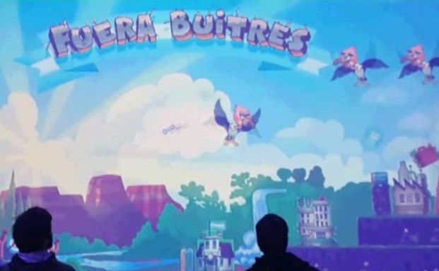Angry Birds des Cono Sur