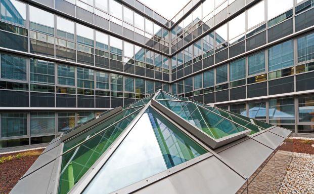 Innenhof des Dortmunder Immobilienobjekts Königshof