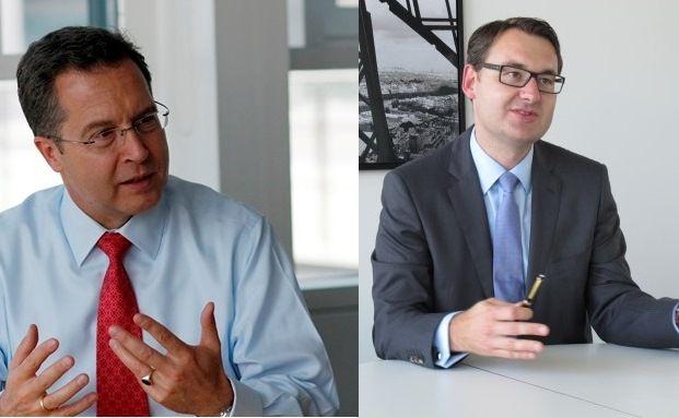 Holger Sepp (links) und Christian Hogrebe von Caceis