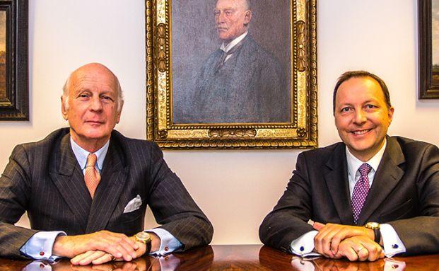 Carl von Rohrer (links) und Michael Kohl, Carl von Rohrer Vermögensverwaltung
