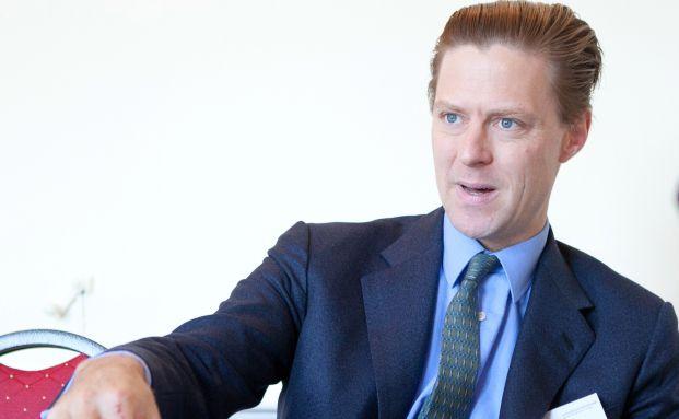 Carlos von Hardenberg, Fondsmanager des Templeton Frontier Markets Fund, beim Emerging Markets Talk 2012 in Hamburg. Foto: Christian Scholtysik