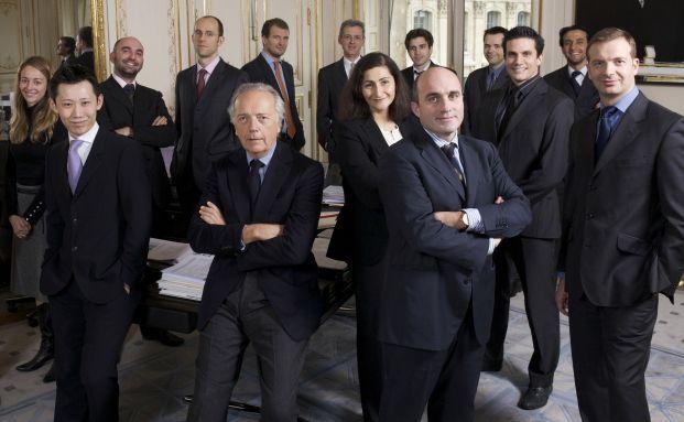 Edouard Carmignac und sein Manager-Team, Foto: Carmignac