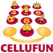 Das Logo des<br>Spieleentwicklers Cellufun