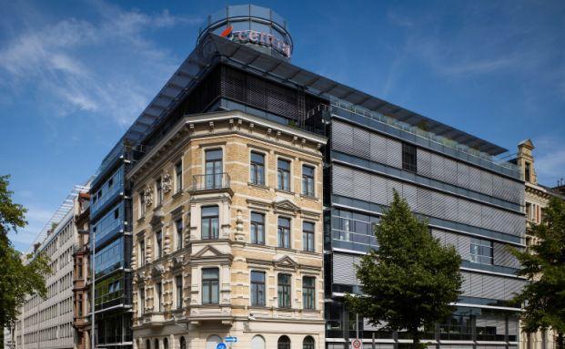 Die Central Hauptverwaltung in Köln.