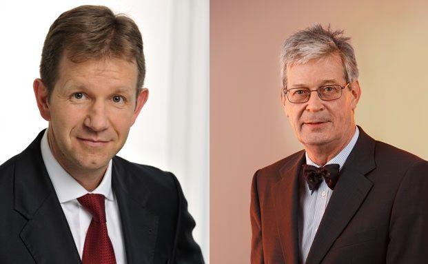 Frank Hüppelshäuser (links) und Hans-Herbert Rospleszcz