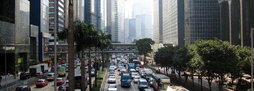 Rush-Hour in einer <br> chinesischen Gro&szlig;stadt; <br> Quelle: Fotolia