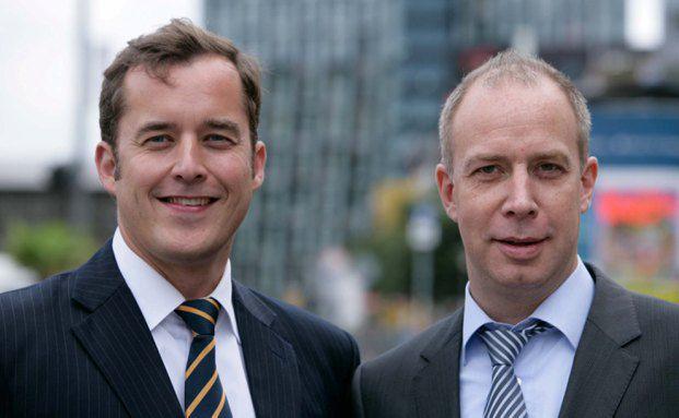 Christian Hammer und Peer Reichelt (von links)