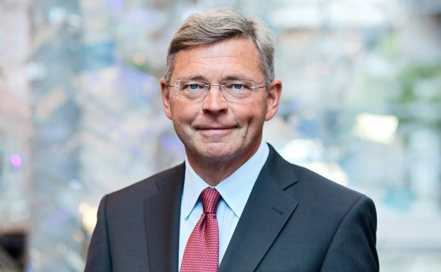 Christian Clausen, Chef von Nordea: Die dänische Bank senkte den Zins für einen Baukredit unter null. (Foto: Nordea)