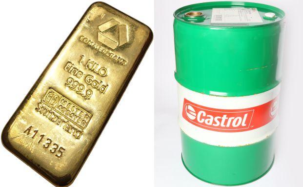"""Das """"Citi-Investmentbarometer"""" steht derzeit besonders gut für Gold- beziehungsweise Öl-Investments. Fotos: Carlo Schrodt  / Tim Reckmann / <a href='http://www.pixelio.de' target='_blank'>pixelio.de</a>"""