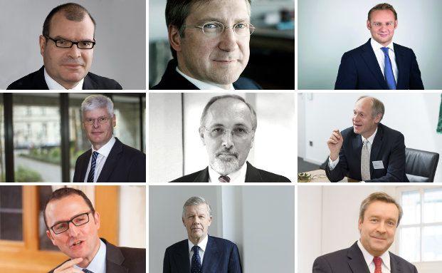 Diese Vermögensverwalter gehören zu den Top Ten der deutschen unabhängigen Vermögensverwaltungen nach Provisionserträgen. Bildquellen siehe Text
