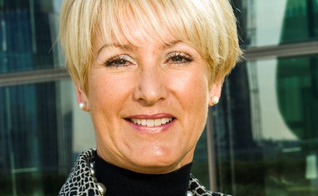 AGI-Chefin Elizabeth Corley ist in zweierlei Hinsicht eine Ausnahme unter den Vermögensverwaltungs-Chefs: Sie ist eine Frau und verfügt über Auslandserfahrungen