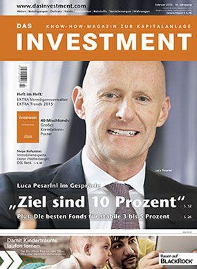 Ausgabe Februar 2015 ab sofort am Kiosk: Luca Pesarin im Gespräch