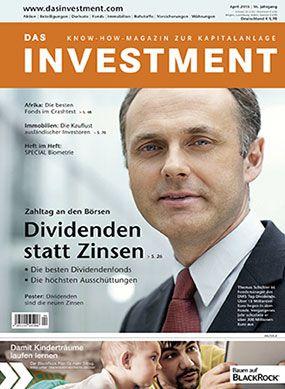 Ausgabe April 2015 ab sofort am Kiosk: Dividenden statt Zinsen