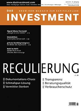 Ausgabe Juni 2015 ab sofort am Kiosk: Regulierung und kein Ende