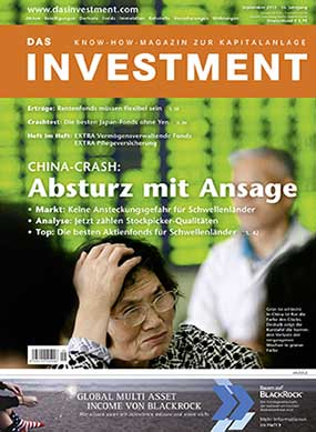 Ausgabe September 2015 ab sofort am Kiosk: CHINA-CRASH