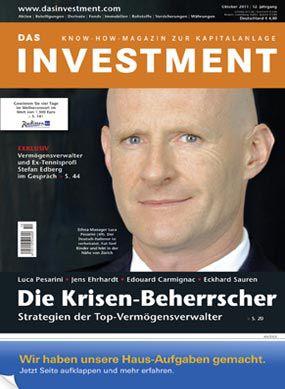Ausgabe Oktober 2011 ab sofort am Kiosk