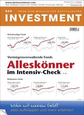 : Ausgabe Dezember 2012 ab sofort am Kiosk