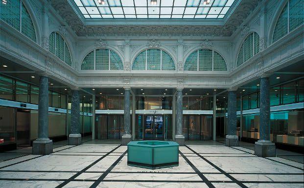 Vorhalle in der Züricher Zentrale der Credit Suisse (Foto: Credit Suisse)