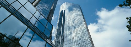 Zentrale des DWS-Mutterkonzerns <br> Deutsche Bank in Frankfurt