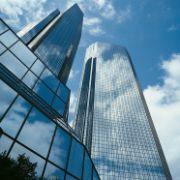 Die Deutsche-Bank-Zentrale in Frankfurt