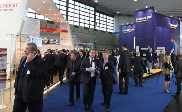 Die DKM ist die selbsternannte Leitmesse der Versicherungsbranche. 2013 werden rund 19.000 Besucher erwartet. Foto: Oliver Lepold