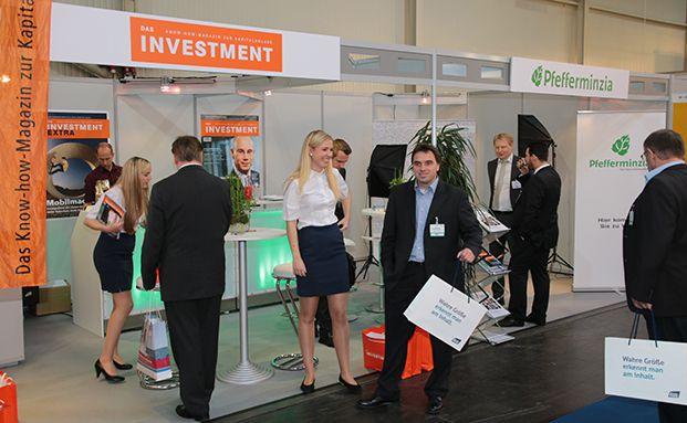 Auf der DKM 2015: Auch DAS INVESTMENT ist vertreten. Foto: Oliver Lepold