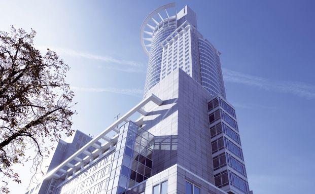 Hauptgebäude der DZ Bank in Frankfurt